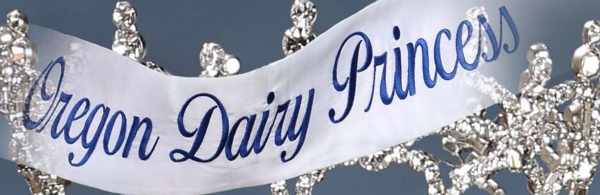 oregon dairy princess