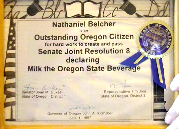 Student Outstanding Oregon Citizen_1997
