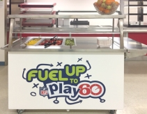 Ontario Culinary Workshop, FUTP60 yogurt station