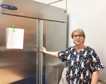 Ontario Culinary Workshop, Kitty and grant funded cooler