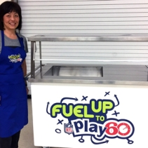 Ontario Culinary Workshop, Pam and yogurt station