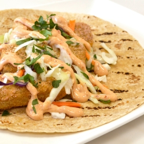 Crunchy Fish Tacos go to RESOURCES, SCHOOLS, Home Recipes